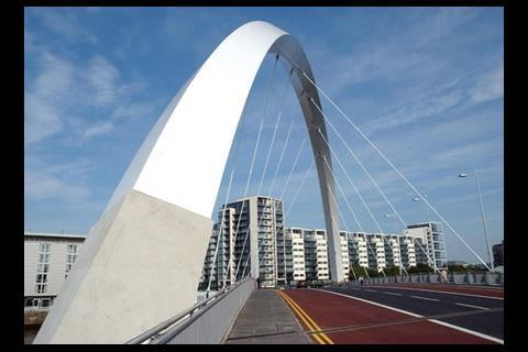 Clyde Arc road bridge